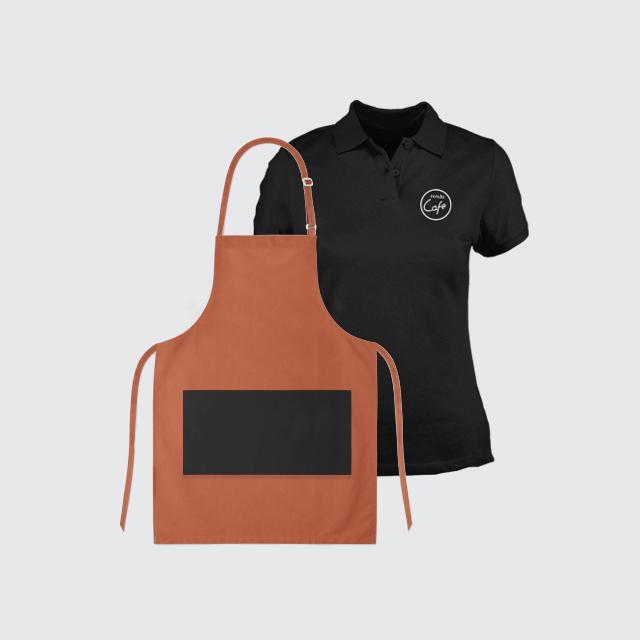 Odzież gastronomiczna z nadrukiem